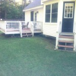 Patio - Pepperell, MA - Before - 02